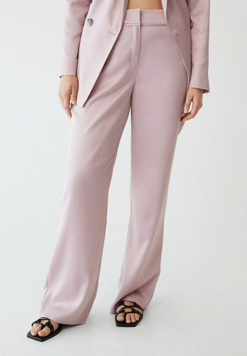 Violeta by Mango - Trousers - rosa