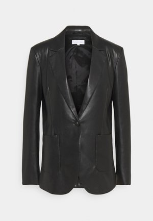 GIACCA SOFT - Leather jacket - nero