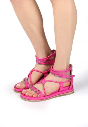Platform sandals - fuchs