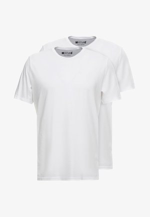 C-NECK 2 PACK - Basic T-shirt - white