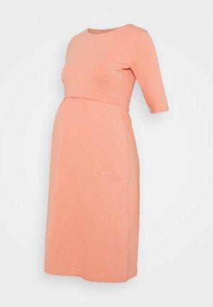 LINNEA DRESS - Jersey dress - canyon clay
