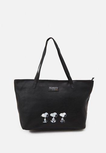 SHOPPER SNOOPY MAKING MEMORIES - Tote bag - black