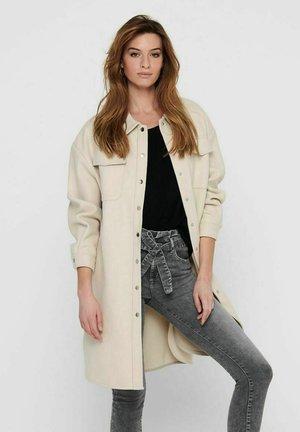 ONLELAINEA LONG SHACKET - Winter coat - pumice stone