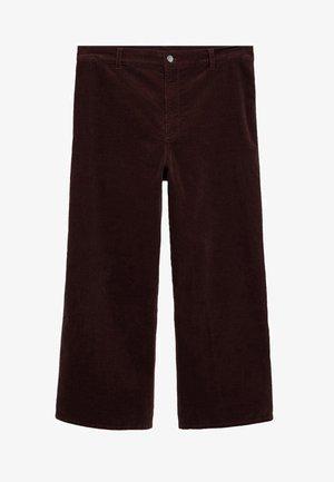 SICILY - Trousers - schokolade
