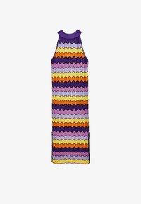 Uterqüe - Day dress - purple - 4