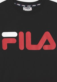 Fila - GAIA CLASSIC LOGO UNISEX - Print T-shirt - black - 2