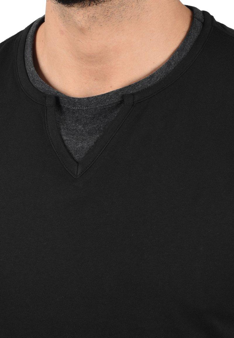 Blend LEONIS - T-Shirt basic - black/schwarz 6iLSw4