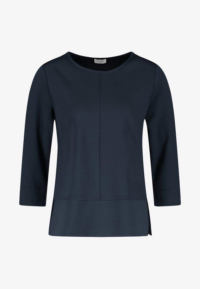 Langarmshirt - blue
