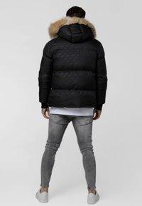 SIKSILK - DESTRUCTION JACKET - Winter jacket - black - 2
