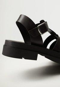 Mango - ROMA - Platform sandals - noir - 6