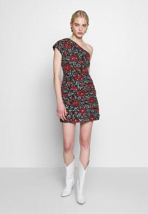 CILVIA DRESS - Korte jurk - black