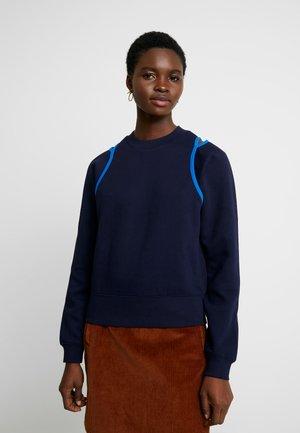 FEMME - Sweatshirt - marine/nattier
