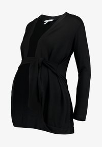 Envie de Fraise - MILONGA MATERNITY CARDIGAN - Cardigan - black - 4