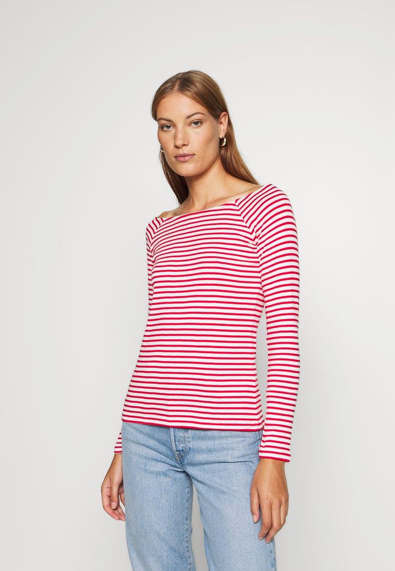 edc by Esprit - FEMINIE  - Long sleeved top - red