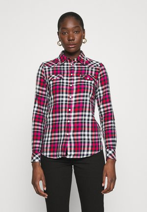 WESTERN CHECK - Button-down blouse - parisian night
