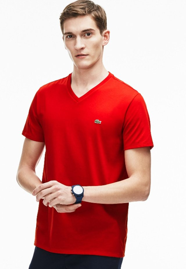 REGULAR FIT TH6710 - T-shirt basique - red