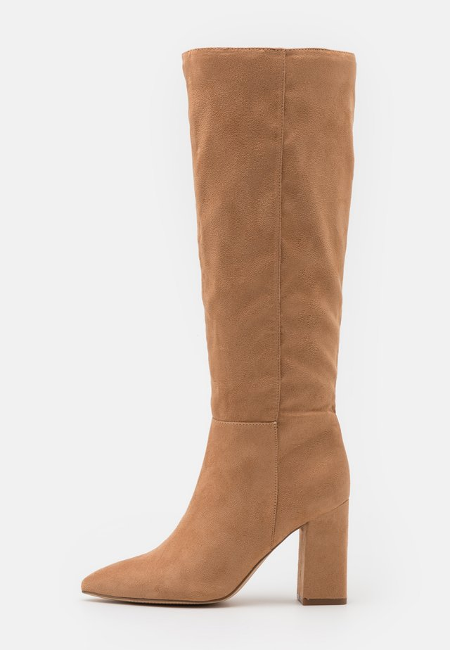 FIREFLY - High heeled boots - tan