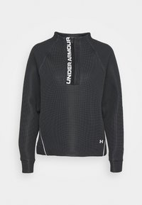 Under Armour - MOVE HALF ZIP - Sweatshirts - black - 4
