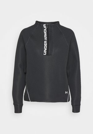 MOVE HALF ZIP - Sweatshirt - black