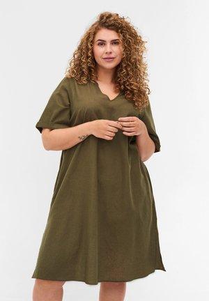Robe en jersey - ivy green