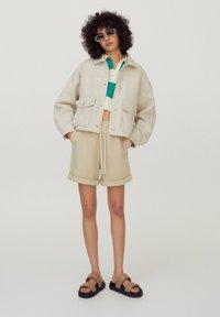PULL&BEAR - Light jacket - beige - 1