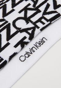 Calvin Klein Underwear - LINER DEANGELO 2 PACK - Socks - white - 2
