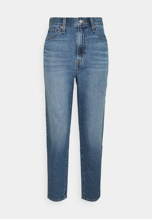 HIGH WAISTED MOM JEAN - Jeans fuselé - eco blue