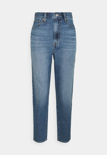 HIGH WAISTED TAPER - Tapered-Farkut - eco blue