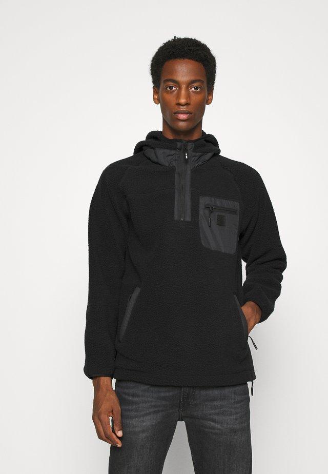 ELLERSLIE - Fleece jumper - black