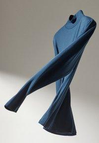 Massimo Dutti - Bluzka z długim rękawem - blue - 5