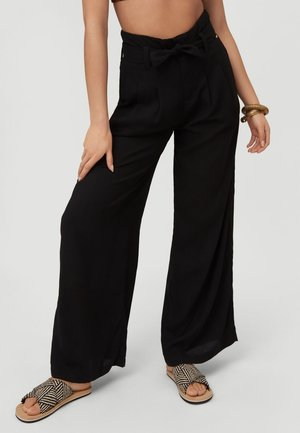 Trousers - black out