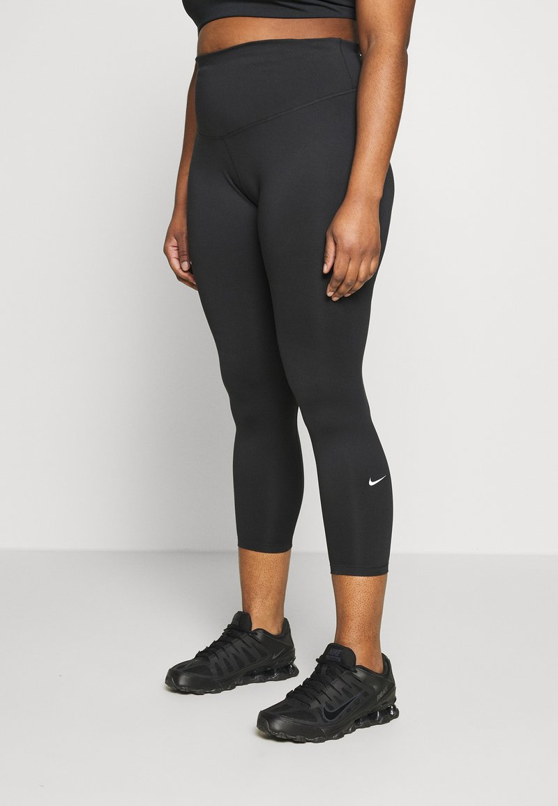 Nike Performance - ONE PLUS  - Tights - black/white