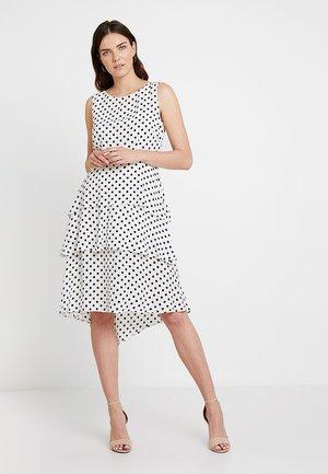 Sukienka letnia - ivory/black