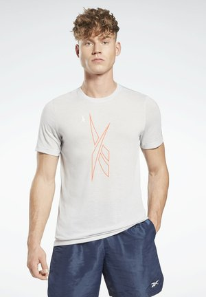 MYT SS GRAPHIC TEE - T-shirt imprimé - grey