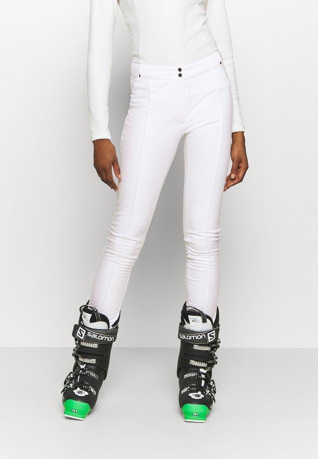 SLENDER PANT - Pantalon de ski - white