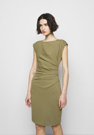 MISTRETCH - Jersey dress - palm green