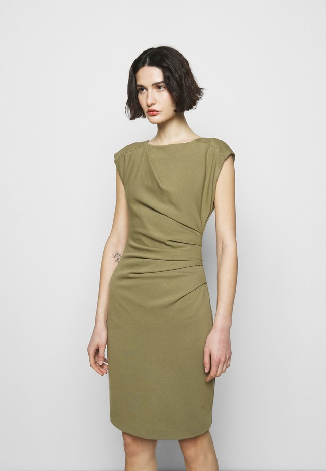 MISTRETCH - Robe en jersey - palm green