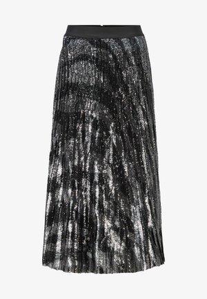 VASPARKY - Pleated skirt - black