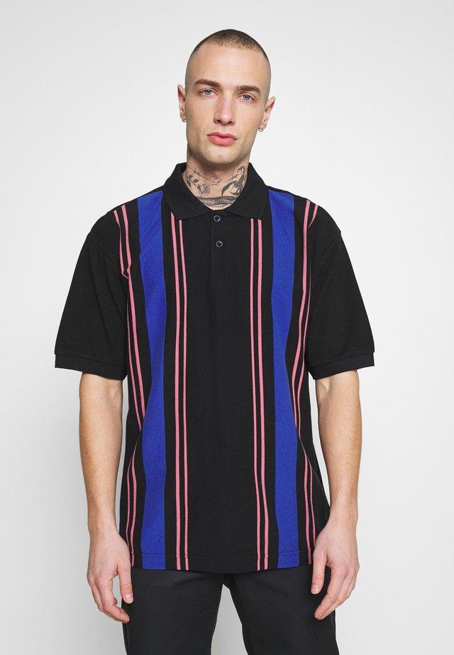 MAPS - Polo shirt - black/multi