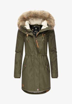 TAWNY - Winter coat - olive