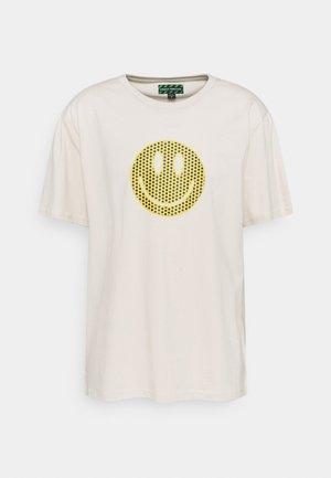 UNISEX  - Print T-shirt - ecru