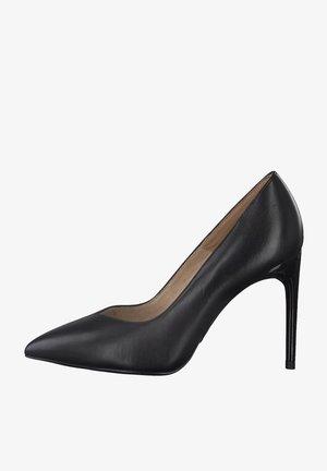 Classic heels - black leather