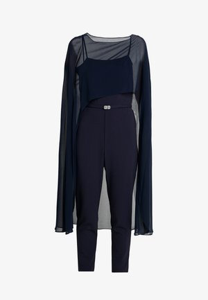 LUXE TECH COMBO - Jumpsuit - lighthouse navy