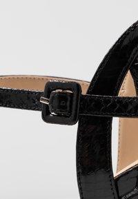 Tata Italia - Korolliset sandaalit - black - 2