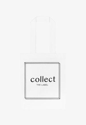 BOXING TATTOO PRINT - Shopping bag - white