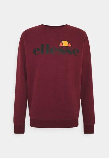 SUCCISO - Sweatshirt - burgundy