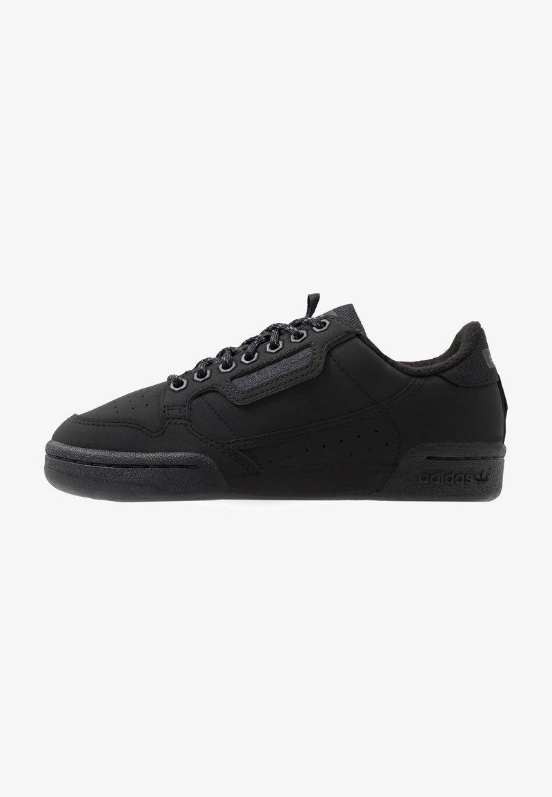 adidas Originals - CONTINENTAL 80 - Sneakersy niskie - core black/trace green