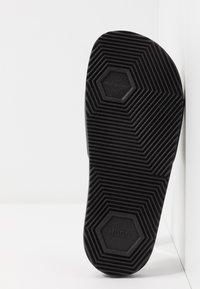 HUGO - TIME OUT SLIDE - Pantofle - black - 6
