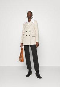 Dorothy Perkins - DOUBLE BREASTED COAT - Short coat - oatmeal - 1