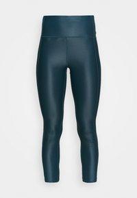 HIGH SHINE 7/8 WORKOUT - Leggings - beetle blue